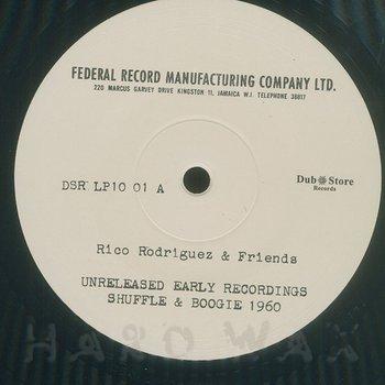 Cover art - Rico Rodriguez & Friends: Shuffle & Boogie 1960