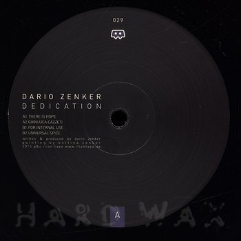 Cover art - Dario Zenker: Dedication