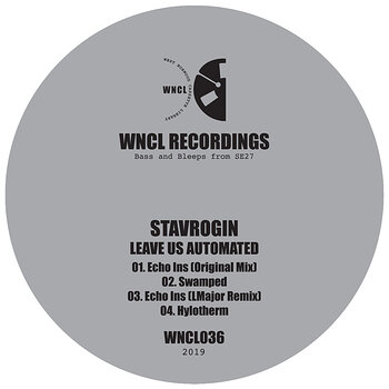 Cover art - Stavrogin: Leave Us Automated