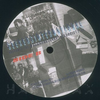 Cover art - SeekersInternational: Ragga Preservation Society EP