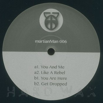 Cover art - Martian Man: You And Me
