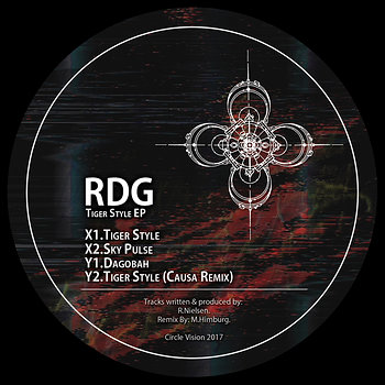 Cover art - RDG: Tiger Style EP