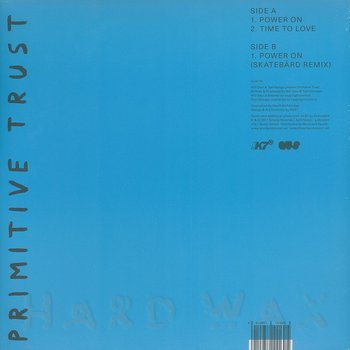 Cover art - Primitive Trust: Power On