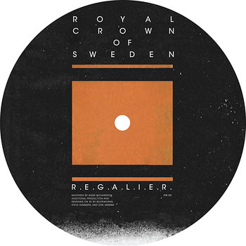 Cover art - Royal Crown Of Sweden: R.E.G.A.L.I.E.R.
