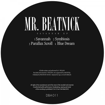 Cover art - Mr. Beatnick: Savannah EP