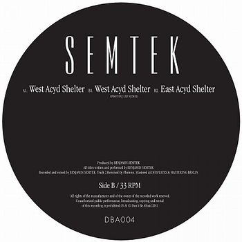 Cover art - Semtek: West Acyd Shelter