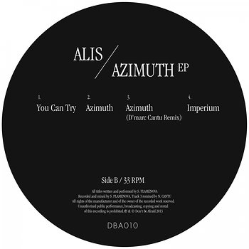 Cover art - Alis: Azimuth EP