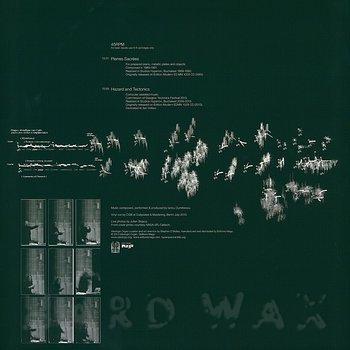 Cover art - Iancu Dumitrescu: Pierres Sacrées / Hazard and Tectonics