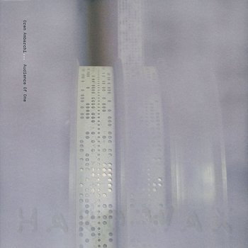Cover art - Oren Ambarchi: Audience of One