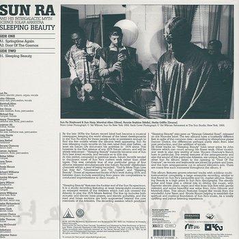 Cover art - Sun Ra: Sleeping Beauty