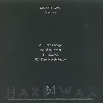 Cover art - Major Grave: Evacuate