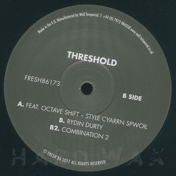 Cover art - Threshold: Style Cyarrn Spwoil