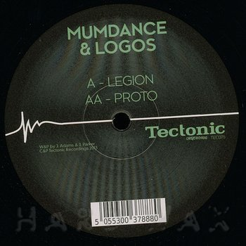 Cover art - Mumdance & Logos: Legion