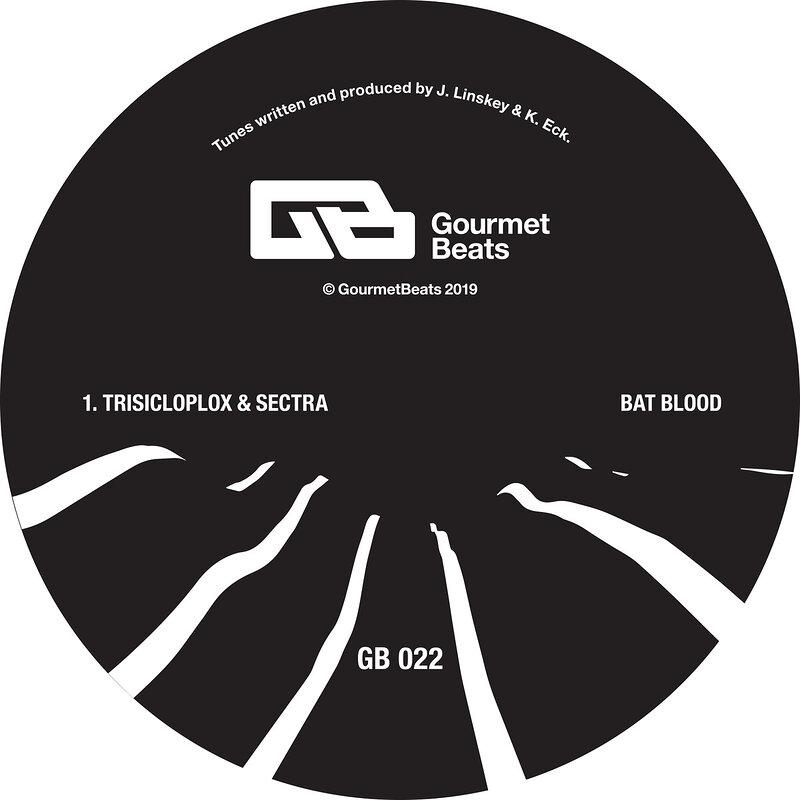 Cover art - Trisicloplox & Sectra: Bat Blood