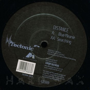 Cover art - Distance: Blue Meanie
