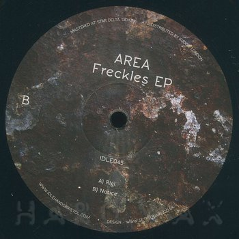 Cover art - Area: Freckles EP