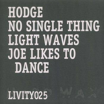 Cover art - Hodge: No Single Thing