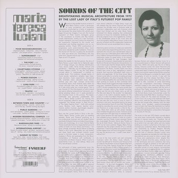 Cover art - Maria Teresa Luciani: Sounds Of The City