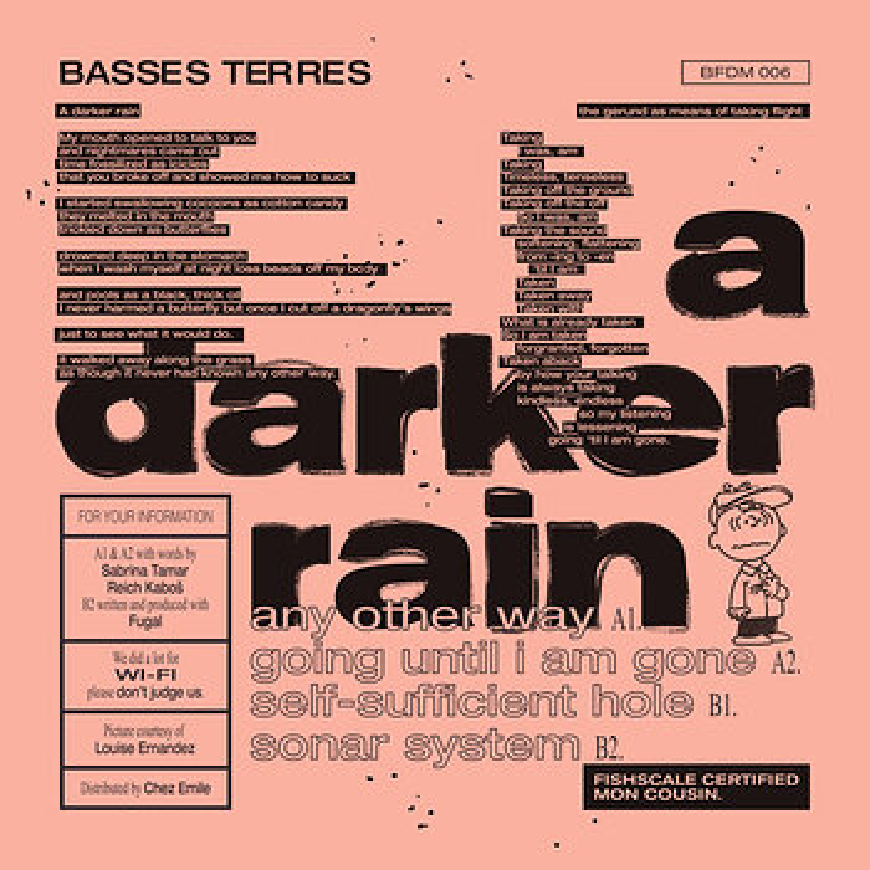 Cover art - Basses Terres: A Darker Rain