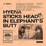 Cover art - J-Zbel: Hyena Sticks Head In Elephant's Butt