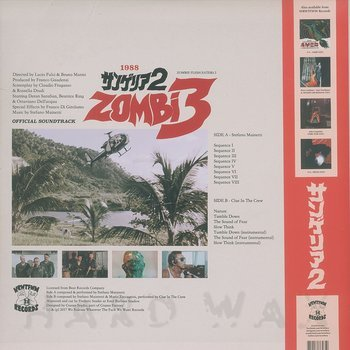 Cover art - Stefano Mainetti: Zombi 3