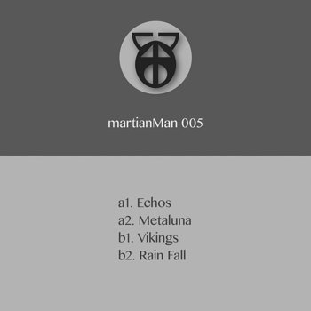 Cover art - Martian Man: Echoes