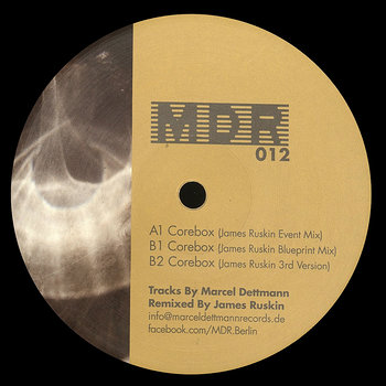 Cover art - Marcel Dettmann: Corebox - James Ruskin Mixes