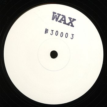 Cover art - Wax: No. 30003