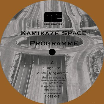 Cover art - Kamikaze Space Programme: Ballard