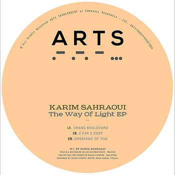 Cover art - Karim Sahraoui: The Way Of Light