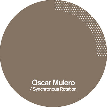 Cover art - Oscar Mulero: Synchronous Rotation