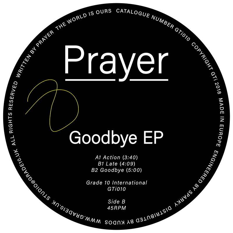 Cover art - Prayer: Goodbye EP