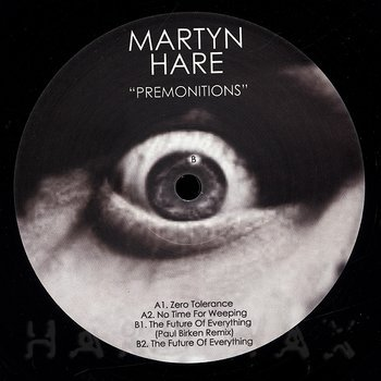 Cover art - Martyn Hare: Premonitions