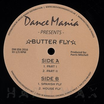 Cover art - Parris Mitchell: Butter Fly