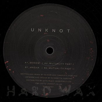 Cover art - Unknot: Modem