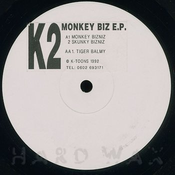 Cover art - K2: Monkey Biz E.P.