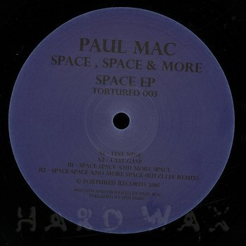 Cover art - Paul Mac: Space , Space & More Space
