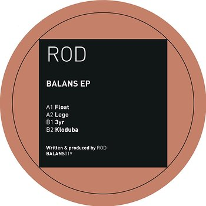 Cover art - Rod: Balans EP