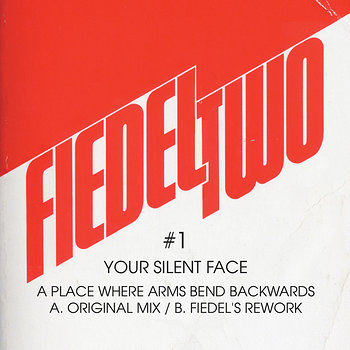 Cover art - Your Silent Face: A Place Where Arms Bend Backwards