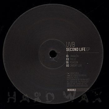 Cover art - UVB: Second Life EP