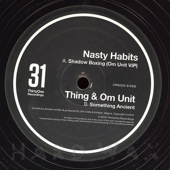 Cover art - Om Unit & Thing: Shadow Boxing (Om Unit VIP) / Something Ancient