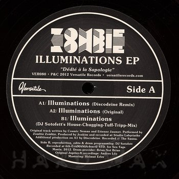 Cover art - Zombie Zombie: Illuminations