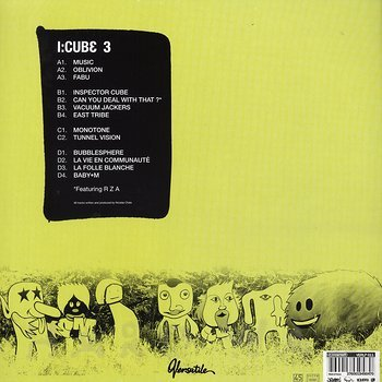 Cover art - I:Cube: 3