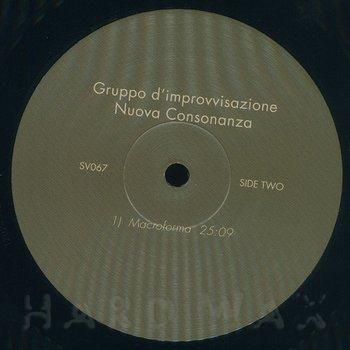 Cover art - Gruppo D'Improvvisazione Nuova Consonanza: Gruppo D'Improvvisazione Nuova Consonanza