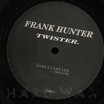 Cover art - Frank Hunter: Twister