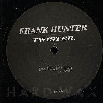 Cover art - Frank Hunter: Twister