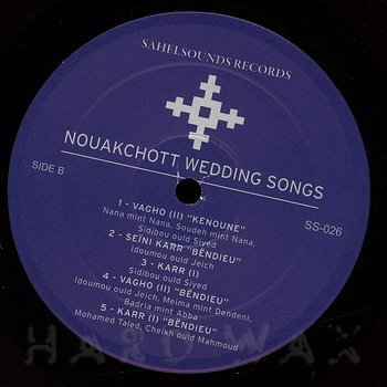 Cover art - Various Artists: Nouakchott Wedding Songs