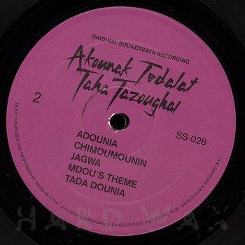 Cover art - Mdou Moctar: Akounak Tedalat Taha Tazoughai (Original Soundtrack Recording)