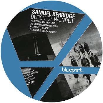 Cover art - Samuel Kerridge: Deficit Of Wonder