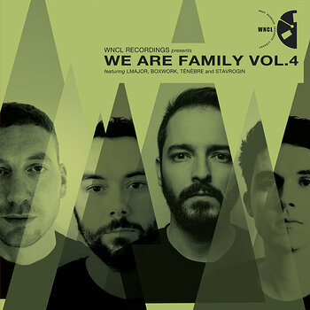 Cover art - Various Artists: We Are Family Vol. 4
